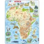 Larsen-A22-GB Rahmenpuzzle - Afrika (auf Englisch)