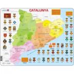 Larsen-A29-CT Rahmenpuzzle - Katalonien (auf Katalanisch)