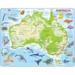 Larsen-A31-DE Rahmenpuzzle - Australien
