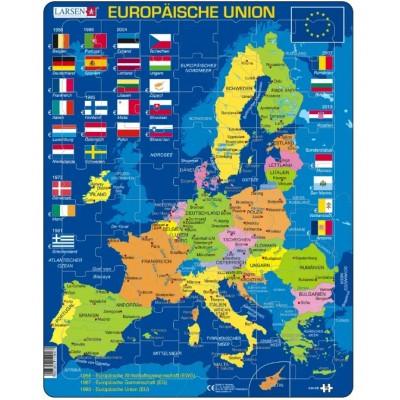 Larsen-A39-DE Rahmenpuzzle - Europäische Union
