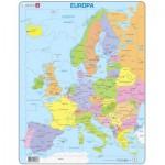 Larsen-A8-DE Rahmenpuzzle - Europa