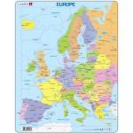 Larsen-A8-FR Rahmenpuzzle - Europakarte (auf Französisch)