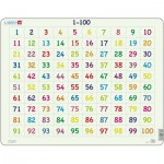 Larsen-AR10 Rahmenpuzzle - Mathematik: 1 - 100