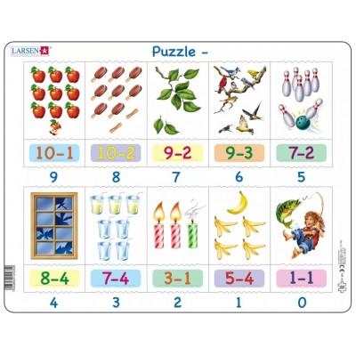 Larsen-AR19 Rahmenpuzzle - Mathematik