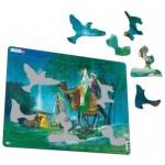 Larsen-C7 Rahmenpuzzle - Die 3 heiligen Könige
