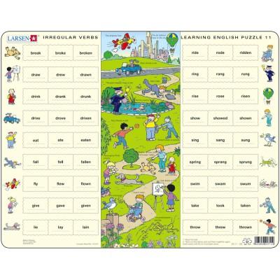 Larsen-EN11-GB Rahmenpuzzle - Learning English 11: Unregelmäßige Verben