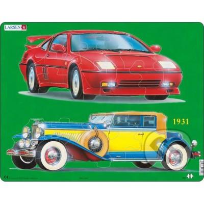 Larsen-GN2 Rahmenpuzzle - Autos