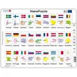 Larsen-GP2-SE Rahmenpuzzle - MemoPuzzle (auf Schwedisch)