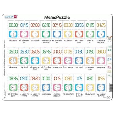 Larsen-GP5-CZ Rahmenpuzzle - MemoPuzzle (auf Tschechisch)