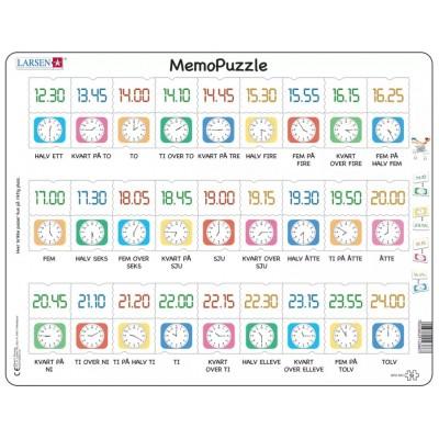 Larsen-GP5-NO Rahmenpuzzle - MemoPuzzle (auf Norwegisch)