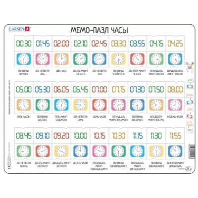 Larsen-GP5-RU Rahmenpuzzle - MemoPuzzle (auf Russisch)