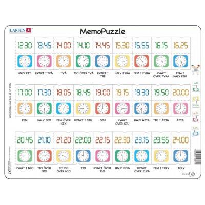 Larsen-GP5-SE Rahmenpuzzle - MemoPuzzle (auf Schwedisch)