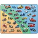 Larsen-HL8-DE Rahmenpuzzle - Retro Autos