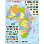 Larsen-K13-RU Rahmenpuzzle - Afrika (auf Russisch)