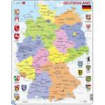 Larsen-K21-DE Rahmenpuzzle - Deutschland
