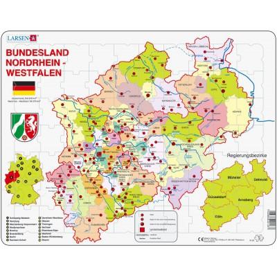 Larsen-K23-DE Rahmenpuzzle - Nordrhein-Westfalen