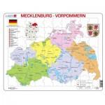 Larsen-K29-DE Rahmenpuzzle - Mecklenburg-Vorpommern