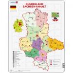 Larsen-K31-DE Rahmenpuzzle - Bundesland: Sachsen-Anhalt