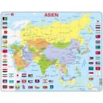 Larsen-K44-DE Rahmenpuzzle - Asien