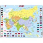 Larsen-K44-RU Rahmenpuzzle - Asien (auf Russisch)