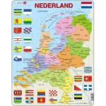 Larsen-K53-NL Rahmenpuzzle - Die Niederlande (auf Holländisch)