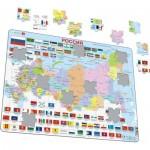Larsen-K55-RU Rahmenpuzzle - Russlandkarte (auf Russisch)