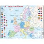 Larsen-K63-NL Rahmenpuzzle - Europa & Europese Unie (Holländisch)