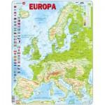 Larsen-K70-NL Rahmenpuzzle - Europa (Holländisch)