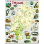 Larsen-K74-DE Rahmenpuzzle - Hessen