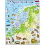 Larsen-K79-NL Rahmenpuzzle - Die Niederlande (auf Holländisch)