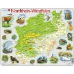 Larsen-K82-DE Rahmenpuzzle - Nordrhein-Westfalen