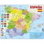 Larsen-K85-ES Rahmenpuzzle - Spanien (auf Spanisch)