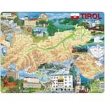 Larsen-K86-DE Rahmenpuzzle - Tirol