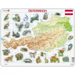Larsen-K93-DE Rahmenpuzzle - Österreich
