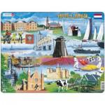 Larsen-KH10 Rahmenpuzzle - Holland