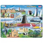 Larsen-KH10-NL Rahmenpuzzle - Holland