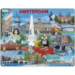 Larsen-KH11-NL Rahmenpuzzle - Amsterdam