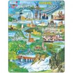 Larsen-KH8-DE Rahmenpuzzle - Der Rhein