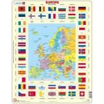 Larsen-KL1-NL Rahmenpuzzle - Europa (Holländisch)