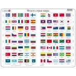 Larsen-L2-RU Rahmenpuzzle - Flaggen (auf Russisch)