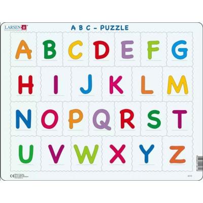 Larsen-LS1326 Rahmenpuzzle - Das Alphabet