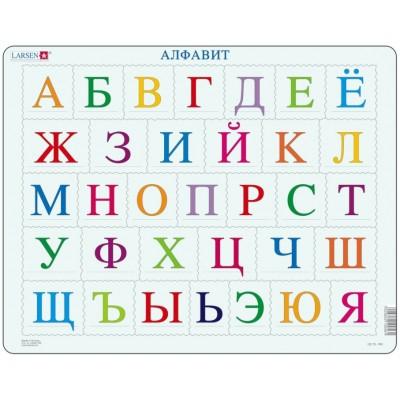 Larsen-LS1333A-RU Rahmenpuzzle - A B C Puzzle (auf Russisch)