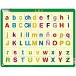 Larsen-LS14-ES Rahmenpuzzle - ABC abc (auf Spanisch)