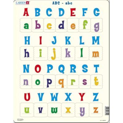 Larsen-LS1426 Rahmenpuzzle - Das Alphabet