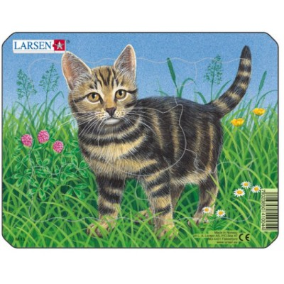 Larsen-M13-2 Rahmenpuzzle - Kätzchen