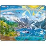 Larsen-NB1-FR Rahmenpuzzle - Le Climat et l'Effet de Serre (auf Französisch)