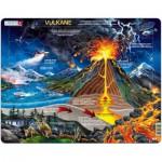 Larsen-NB2-DE Rahmenpuzzle - Vulkan