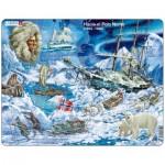 Larsen-NB7-ES Rahmenpuzzle - Hacia el Polo Norte (auf Spanisch)