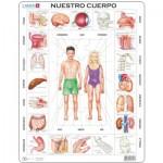 Larsen-OB1-ES Rahmenpuzzle - Nuestro Cuerpo (auf Spanisch)