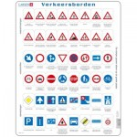 Larsen-OB3-NL Rahmenpuzzle - Verkeersborden (Holländisch)